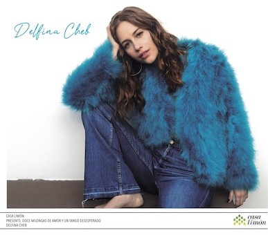 REDUCIDA OKI BAJA Tapa disco Delfina Cheb